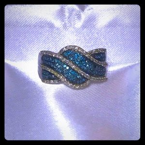 Jewelry - Blue Diamond Ring